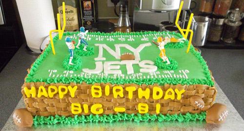 Custom Football Cake
