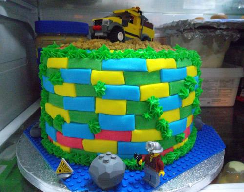Custom Lego Cake